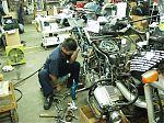 BMW motorka rozebraná